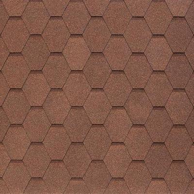 Черепица Тегола NOBIL TILE Вест Светло-коричневый