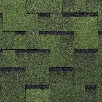 Черепица Тегола Top Shingle Футуро Зеленый