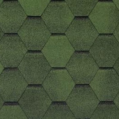 Черепица Тегола Top Shingle Смальто Зеленый