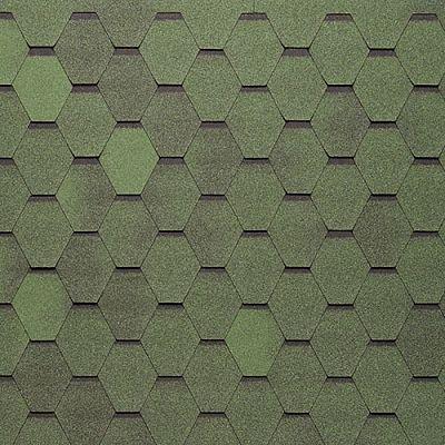 Черепица Тегола Нордлэнд Нордик Зеленый с отливом
